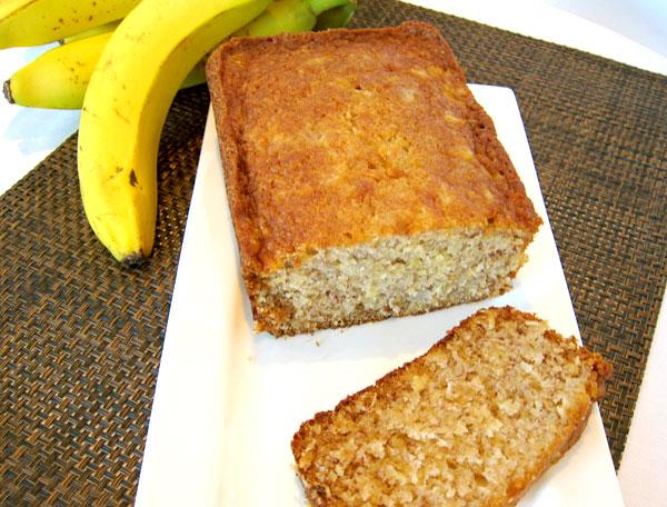 Pineapple Coconut Banana Loaf | menubyvicky