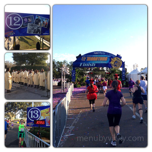 Disney World Half Marathon 2013 - Miles 12-13