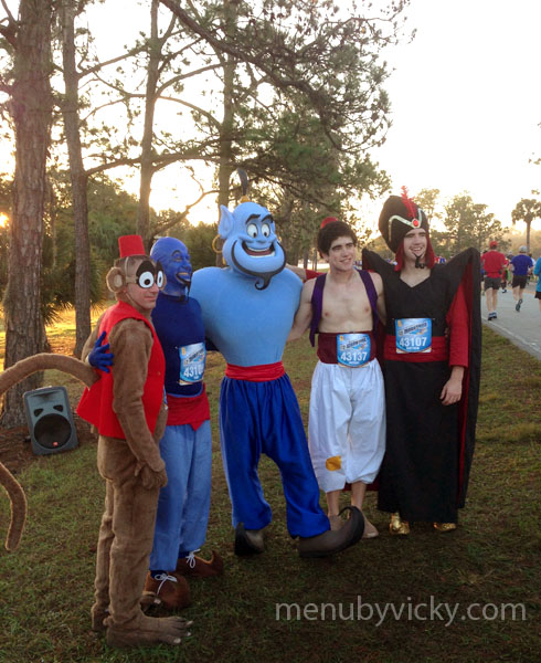 Disney World Marathon 2013 - Character photo