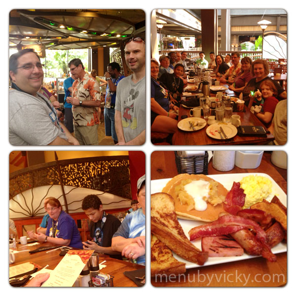 Kona Cafe Team Breakfast