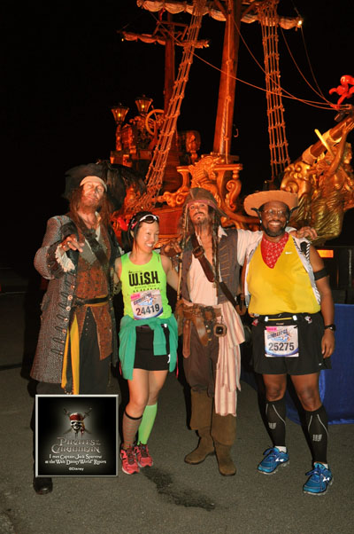 Disney World Half Marathon 2013 - Pirates of the Caribbean