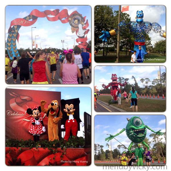 Walt Disney World 2013 Marathon - Mile 20