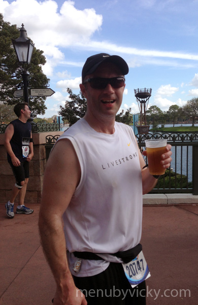 Robbie in Epcot