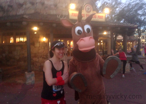 Walt Disney World 2013 Marathon - Bullseye