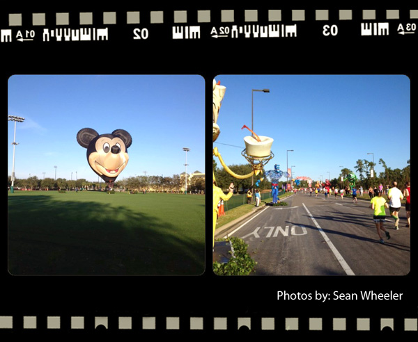 Walt Disney World 2013 Marathon - Mile 20 II