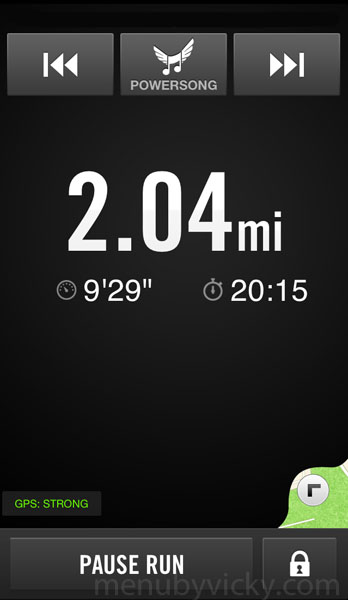 Nike+ Running - Screenshot