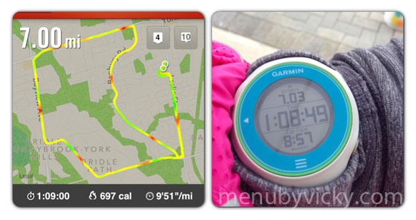 Nike+ app compared to the Garmin 610