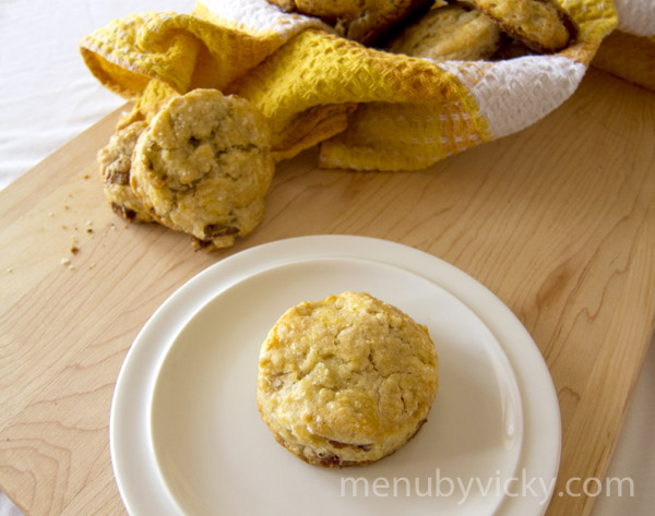 Maple Bacon Biscuits From The Huckleberry Cafe Recipe ...