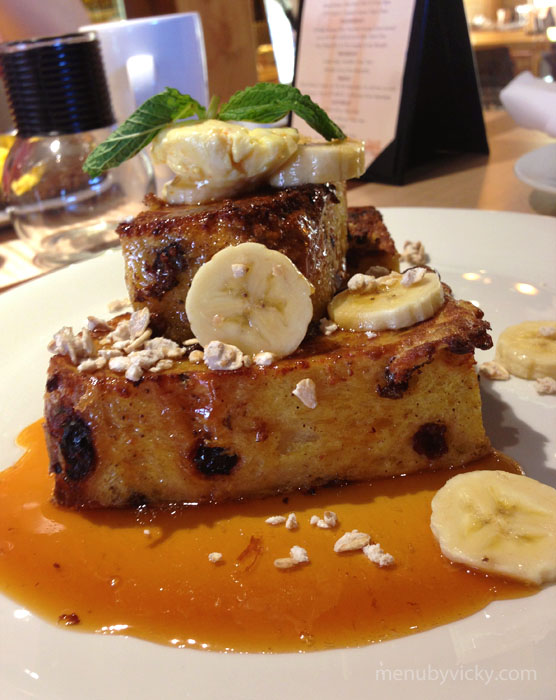 Fred's Bread Raisin French Toast