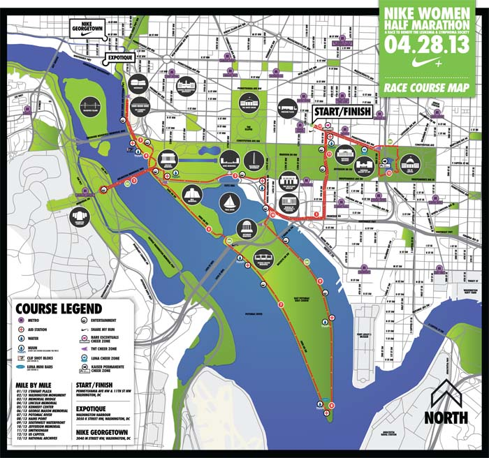 2013 DC Nike Women's Half Course