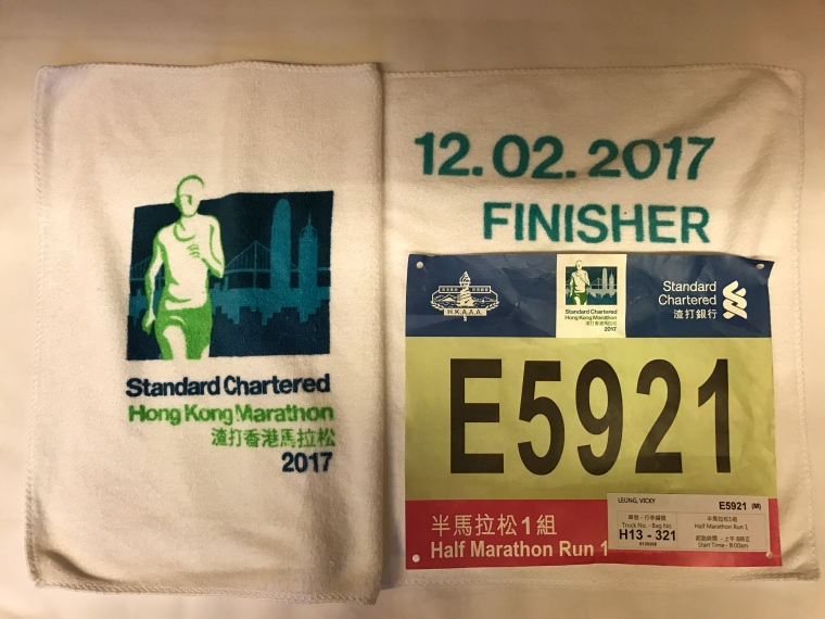 HK Half Finisher Towel