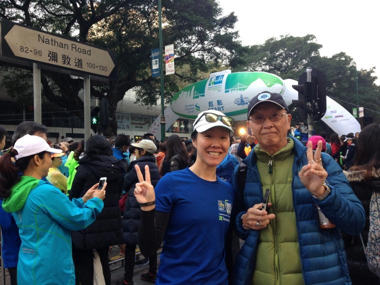 HK Half Marathon Start