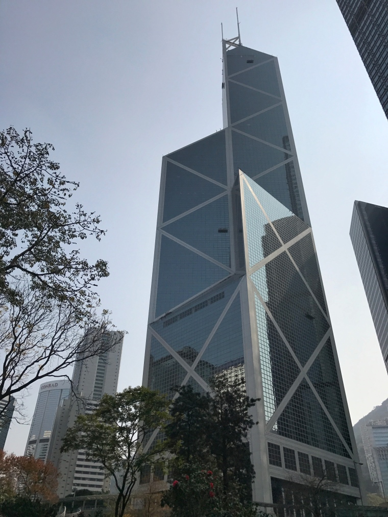 Skycrapers in Hong Kong