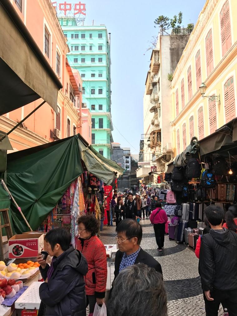Macau city street