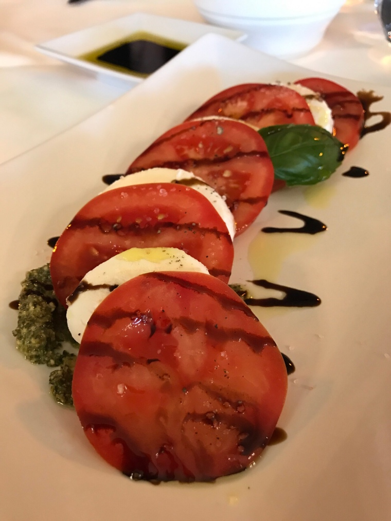Tomato salad appetizer